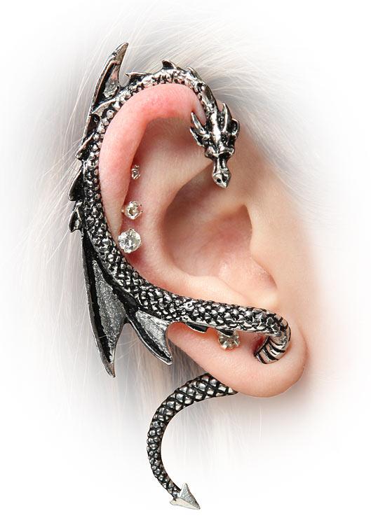 how to wear cuff earrings