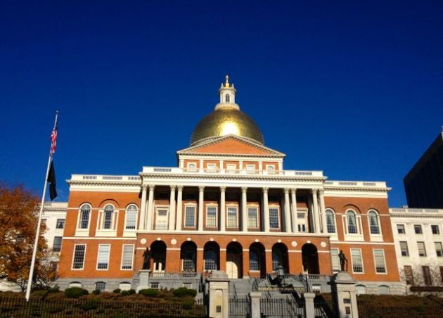 A beautiful day at the State House.