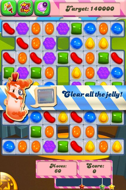 Don't be fooled by the bright shiny candy - this game is brutal.