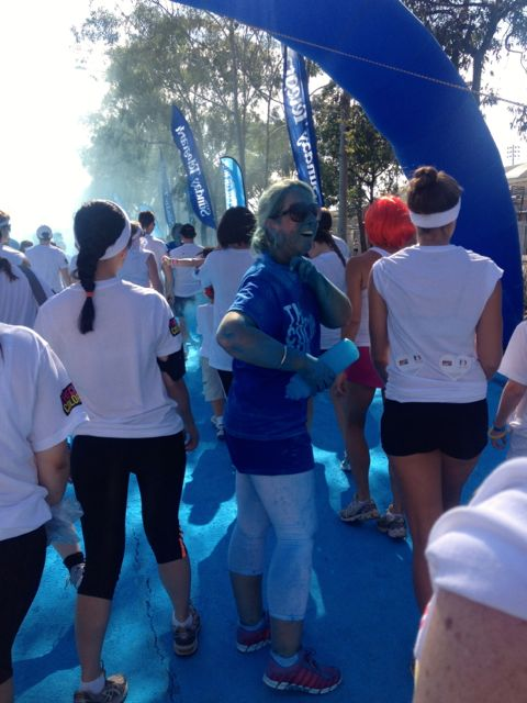 The Smurf Village was the first colour checkpoint.
