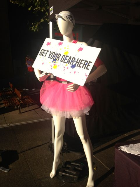 The official Color Run tutu.