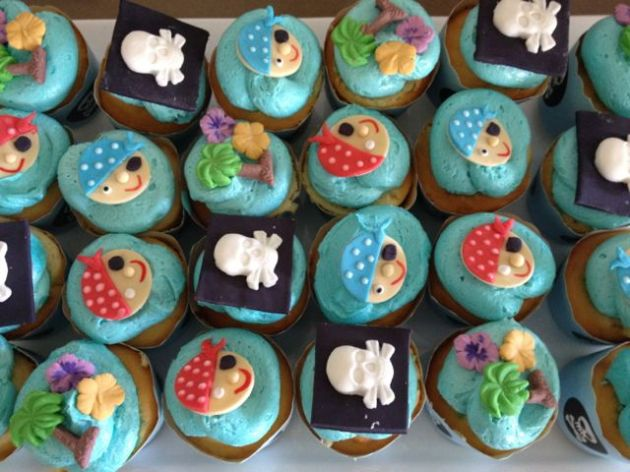Cupcakes from the high seas.
