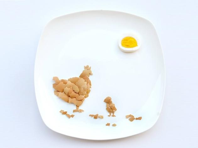 Hong Yi's chickens, via designboom.com