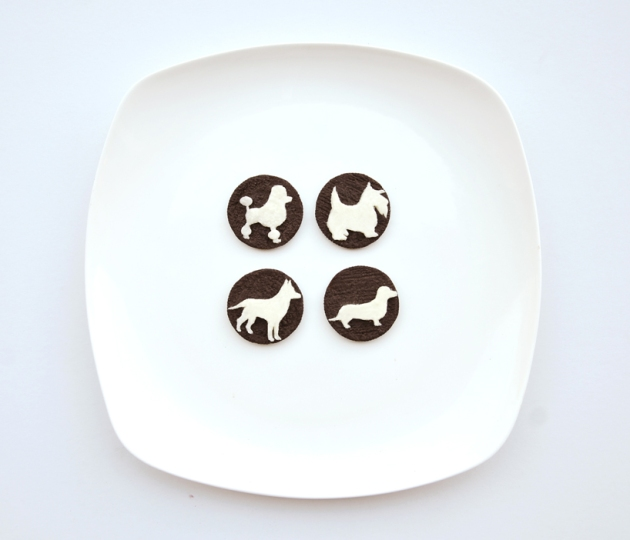 Incredible Oreo art by Hong Yi, via designboom.com