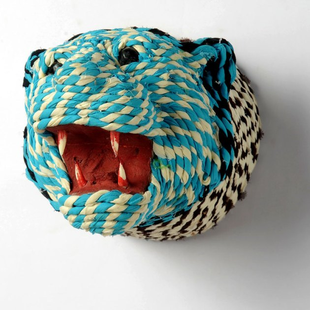 The mountain lion. Still scary, even in rope form. [image from fab.com]