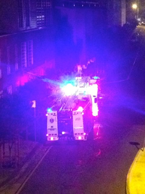 Oh, I almost forgot. My day really started at 3.30am, with a crazy loud alarm, followed by two bright fire trucks and evacuated people in their PJs (from the apartment block across the street from the hotel - all ended up ok.)