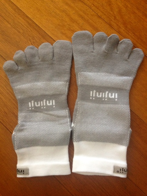 Not gloves, but socks.