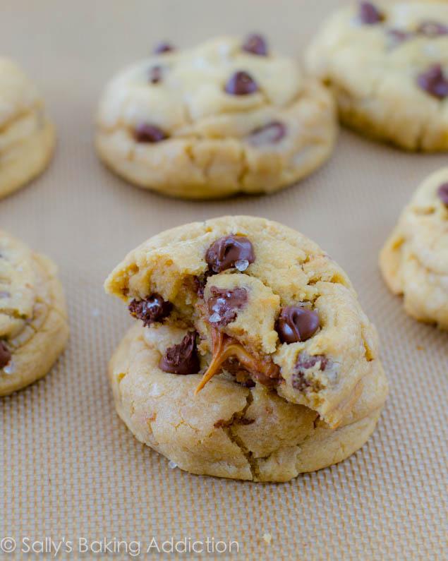 Salted Caramel Choc Chip Cookies. Uh huh.