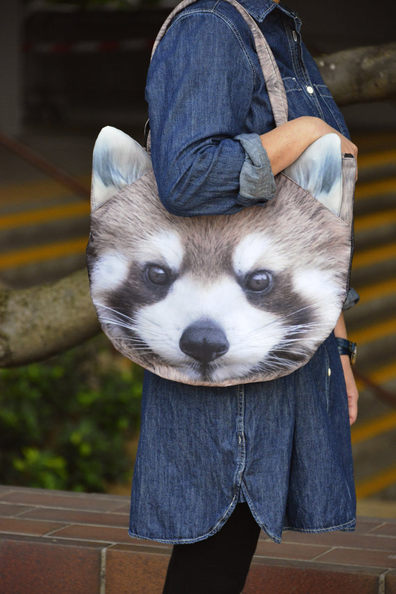 Because everyone needs a giant raccoon by their side. [image from BENWINEWIN]