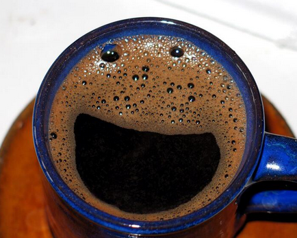 Happiness in a cup. [image from Things with Faces Facebook page]