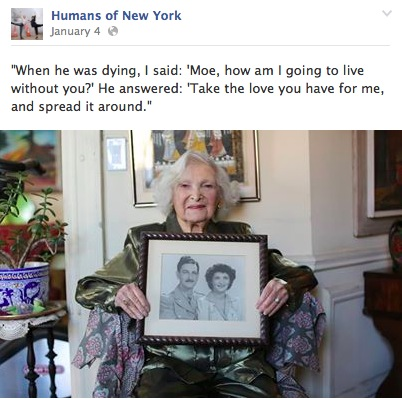 [Image from Humans of New York Facebook page.]