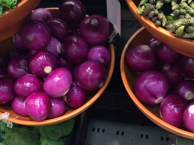 Naked onions.